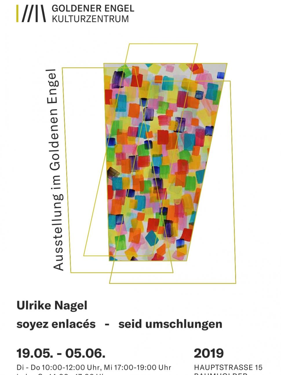 Plakat Ausstellung Ulrike Nagel 2019 Endversion