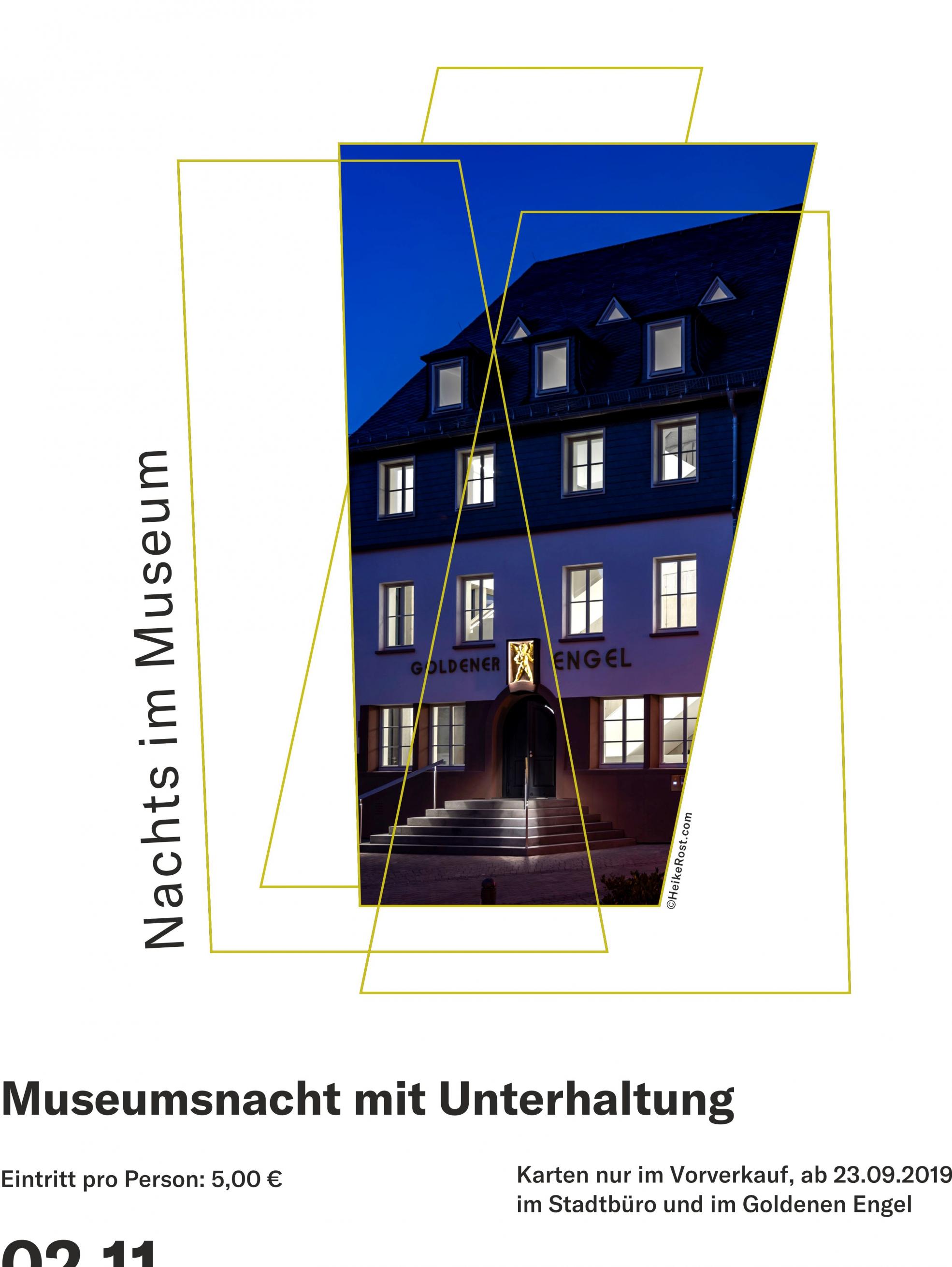 Museumsnacht im Museum Goldener Engel in Baumholder