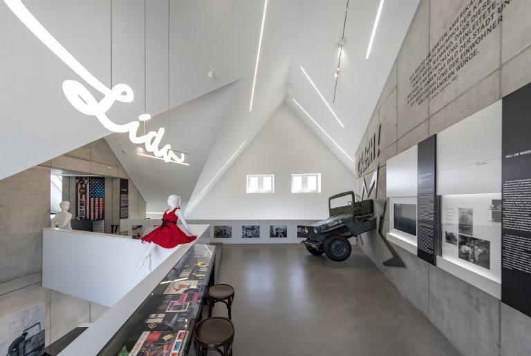 »Goldener Engel« Baumholder - früher Gasthaus, heute Museum, Stadtbücherei, Tourismusinfo der Region Baumholder. Foto: HeikeRost.com  - Architekt: hillearchitekten BDA