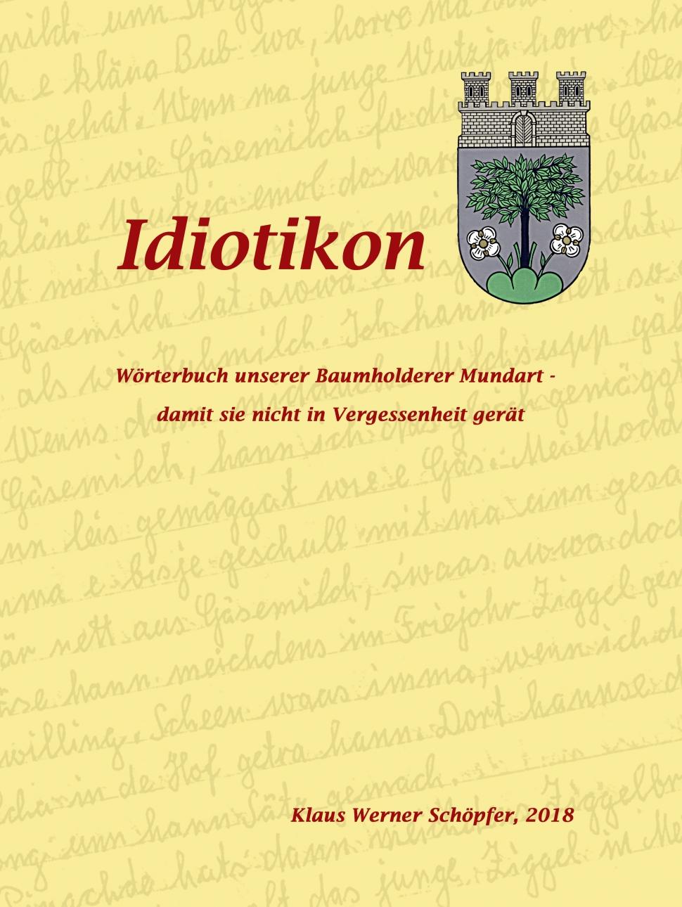 Deckblatt mit Wappen
