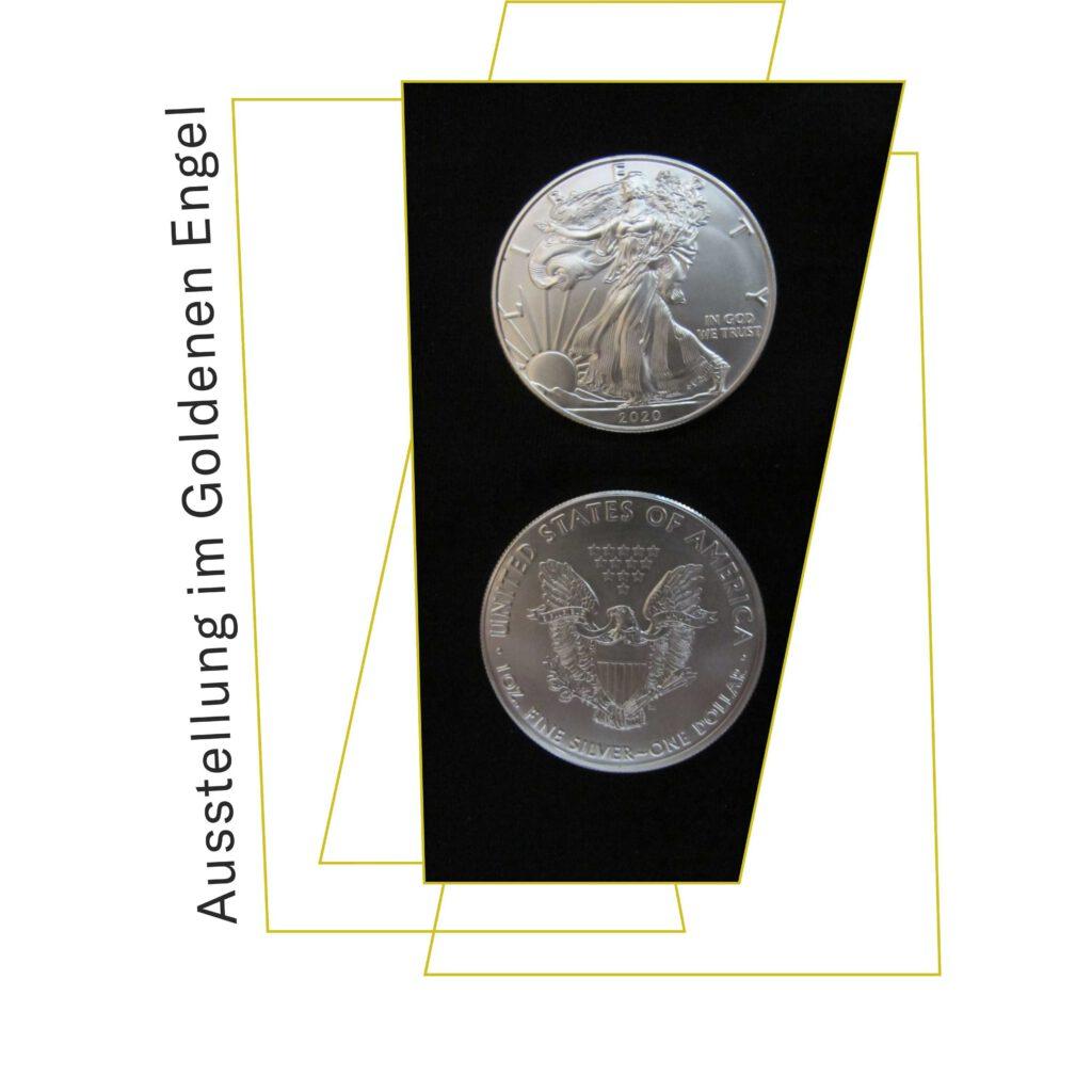 Plakat zur Sonderausstellung Der US-Dollar - Geschichte und Sonderprägungen